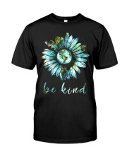 Bee Kind Daisy Earth Classic T-Shirt front