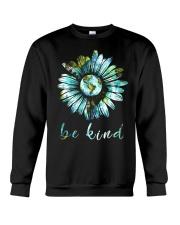 Bee Kind Daisy Earth Crewneck Sweatshirt thumbnail