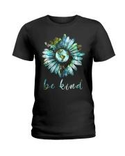 Bee Kind Daisy Earth Ladies T-Shirt thumbnail