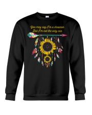 You May Say I'm A Dreamer Sunflower Dreamcatcher Crewneck Sweatshirt thumbnail
