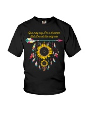 You May Say I'm A Dreamer Sunflower Dreamcatcher Youth T-Shirt thumbnail