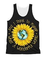 And I Think To Myself What A Wonderful World All-over Unisex Tank thumbnail