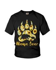 Mama Bear Sunflower Youth T-Shirt thumbnail