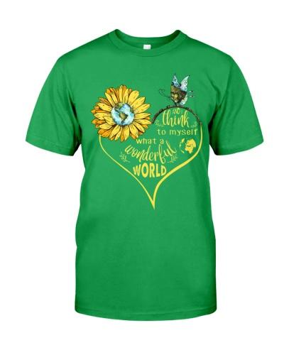 What A Wonderful World Sunflower Earth