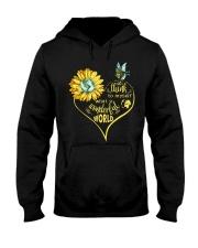 What A Wonderful World Sunflower Earth Hooded Sweatshirt thumbnail