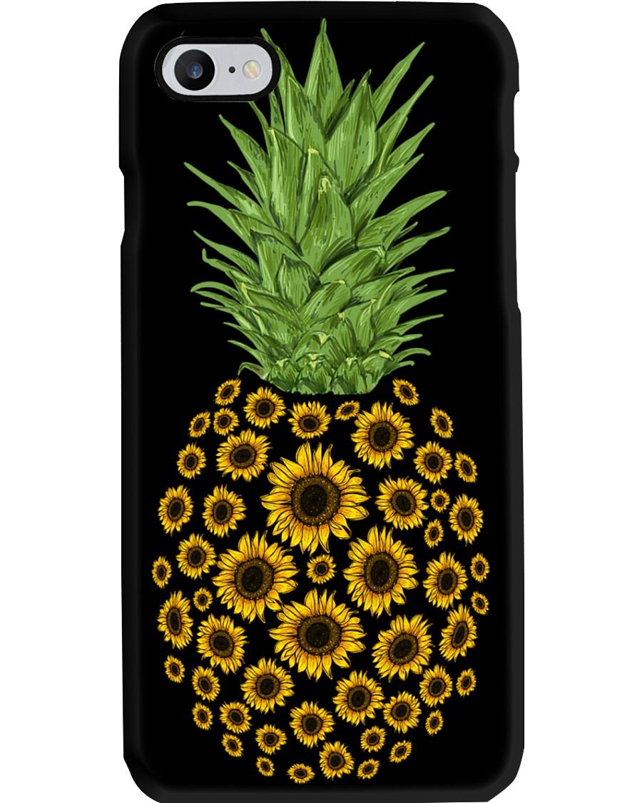 Sunflower Pineapple Phone Case
