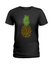 Sunflowers Pineapple No2 Ladies T-Shirt thumbnail