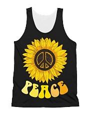 Peace Sunflower All-over Unisex Tank thumbnail