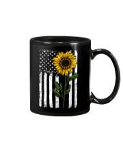 Betsy Ross American Flag Sunflower Mug thumbnail