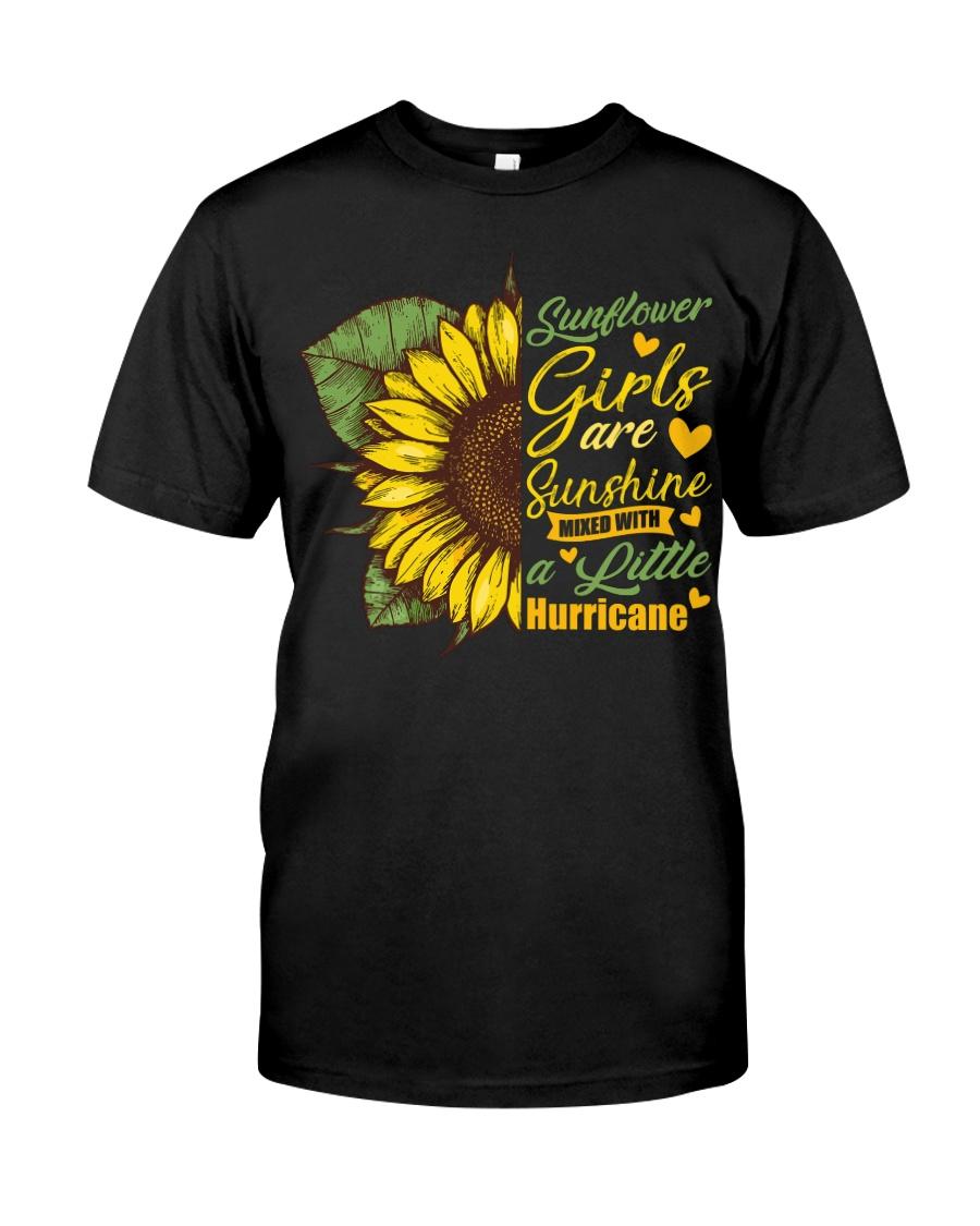 Sunflower Girls Are Sunshine Classic T-Shirt