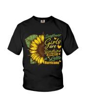 Sunflower Girls Are Sunshine Youth T-Shirt thumbnail