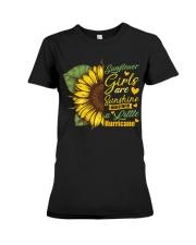 Sunflower Girls Are Sunshine Premium Fit Ladies Tee thumbnail