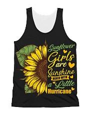 Sunflower Girls Are Sunshine All-over Unisex Tank thumbnail