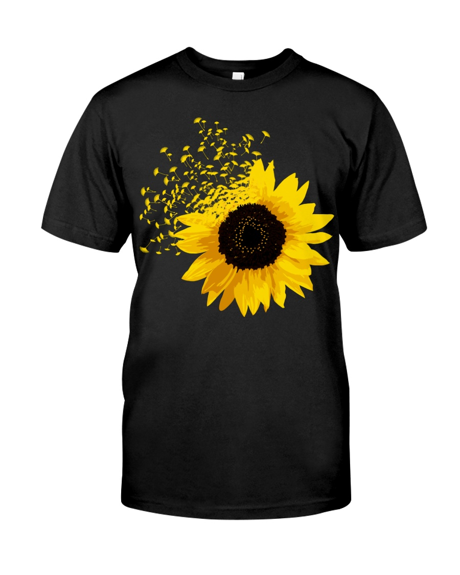 Sunflower And Dandelions Classic T-Shirt