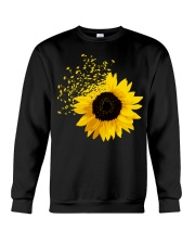 Sunflower And Dandelions Crewneck Sweatshirt thumbnail