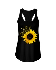 Sunflower And Dandelions Ladies Flowy Tank thumbnail