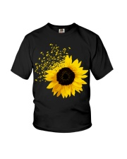 Sunflower And Dandelions Youth T-Shirt thumbnail