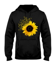 Sunflower And Dandelions Hooded Sweatshirt thumbnail