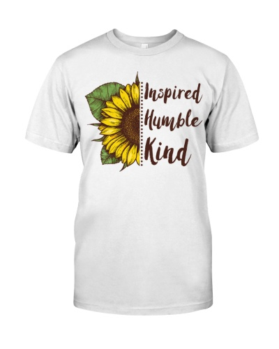 Inspired Humble Kind Sunflower