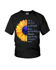 She Is Life Itself Wild And Wonderfully Chaotic Youth T-Shirt thumbnail
