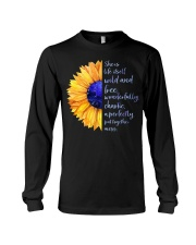 She Is Life Itself Wild And Wonderfully Chaotic Long Sleeve Tee thumbnail