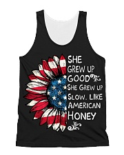 She Grew Up Good She Grew Up Slow All-over Unisex Tank thumbnail