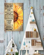 Today Is A Good Day To Have A Great Day Sunflower 11x17 Poster lifestyle-holiday-poster-2