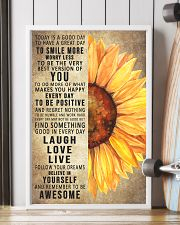 Today Is A Good Day To Have A Great Day Sunflower 11x17 Poster lifestyle-poster-4