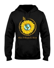 What A Wonderful World Sunflower Hooded Sweatshirt thumbnail