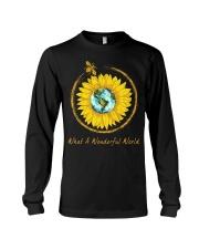 What A Wonderful World Sunflower Long Sleeve Tee thumbnail