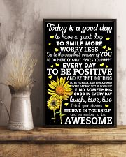 Today Is A Good Day Sunflower 16x24 Poster lifestyle-poster-3