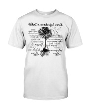 What A Wonderful World Classic T-Shirt tile