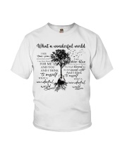 What A Wonderful World Youth T-Shirt tile