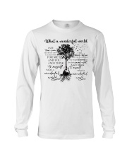 What A Wonderful World Long Sleeve Tee thumbnail
