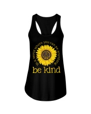 Be Kind Sunflower Ladies Flowy Tank thumbnail