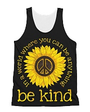 Be Kind Sunflower All-over Unisex Tank thumbnail