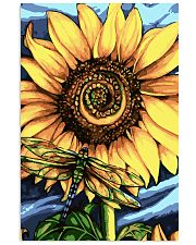 Dragonfly And Sunflower 16x24 Poster front