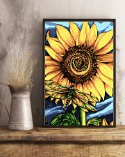 Dragonfly And Sunflower 16x24 Poster lifestyle-poster-3