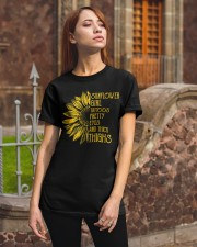 Sunflower Girl Classic T-Shirt apparel-classic-tshirt-lifestyle-06