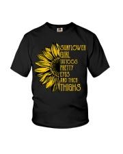 Sunflower Girl Youth T-Shirt thumbnail