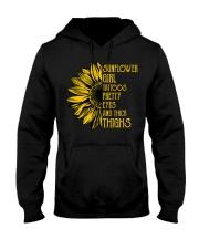 Sunflower Girl Hooded Sweatshirt thumbnail