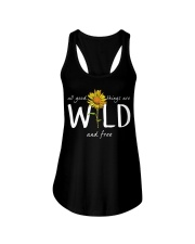 All Good Things Are Wild Ladies Flowy Tank tile
