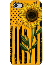 American Flag Sunflower Hippie Vintage Phone Case thumbnail