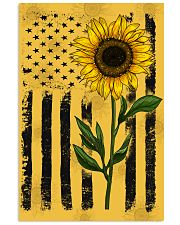 American Flag Sunflower Hippie Vintage 16x24 Poster thumbnail
