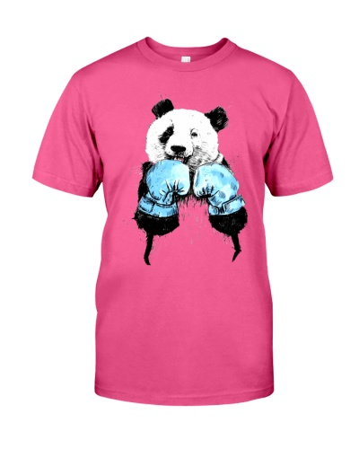 Funny Boxing Panda T-Shirt Fighter T-Shirt is here