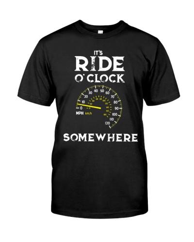 It's Ride O'Clock SomeWhere