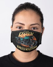 Cafe racer speed masters Cloth face mask aos-face-mask-lifestyle-01