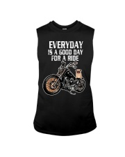 Every day is a good day for a RIDE - PUG Sleeveless Tee thumbnail