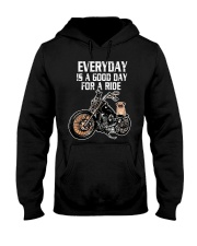 Every day is a good day for a RIDE - PUG Hooded Sweatshirt thumbnail