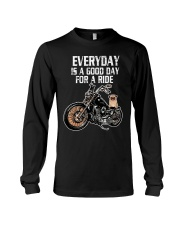 Every day is a good day for a RIDE - PUG Long Sleeve Tee thumbnail